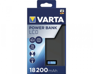 Powerbank Varta LCD Li-Ion 18200mAh antracit 579720