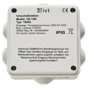 Comutator doua surse alimentare IVT Switcher US-12N 2760 VA 182020