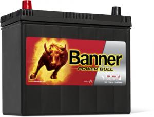 Acumulator Auto Banner Power Bull 45 ah P4524 borne inverse1