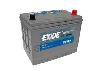 Acumulator Auto Exide ASIA Premium 75 Ah cod EA7541