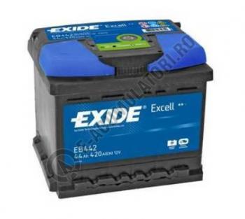Acumulator Auto Exide Excell 44 Ah cod EB4420