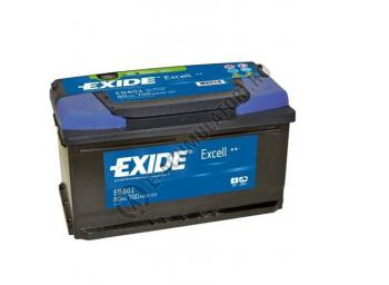 Acumulator Auto Exide Excell 80 Ah cod EB8021