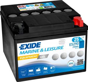 Acumulator Exide GEL Marine si Caravane 25 Ah ES2900