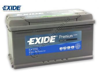 Acumulator Auto Exide Premium 100 Ah cod EA10001