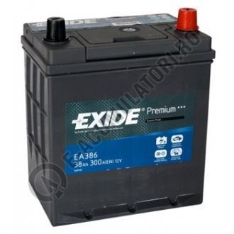 Acumulator Auto Exide Premium Asia 38 Ah cod EA3860