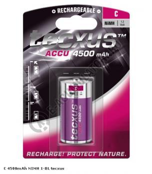 Acumulator Tecxus C, R14, 4500 mAh blister 1 buc0