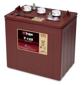 Acumulator Tractiune TROJAN T-125plus Deep Cycle 6V 240 Ah0