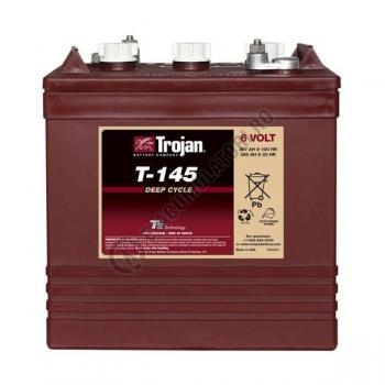 Acumulator TRACTIUNE TROJAN T-145 DEEP CYCLE 6V 260 Ah1