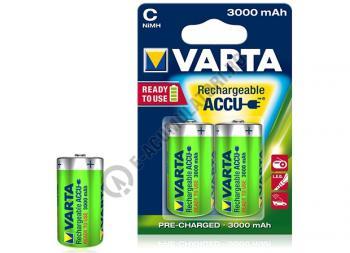 Acumulatori Varta C R14 Baby NiMH 3000 mAh bl 2 buc0