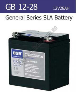 Acumulator VRLA BSB 12V 28Ah cod GB12-280