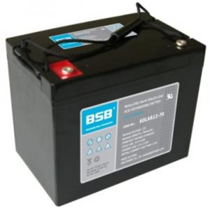 Acumulator VRLA cu GEL BSB 12 V 70 Ah cod SOLAR12-701
