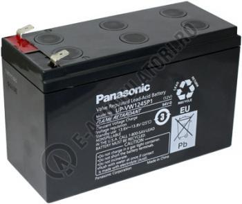 Acumulator VRLA Panasonic 12V 9 AH 45W/celula cod UP-VW1245P10