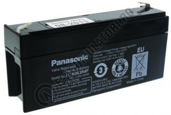 Acumulator VRLA Panasonic 6V 3.4Ah cod LC-R063R4P0