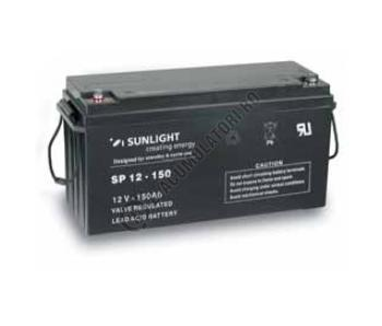 Acumulator VRLA SUNLIGHT 12V 150 Ah cod SPB 12-1501