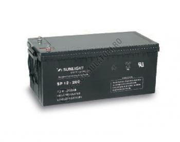 Acumulator VRLA SUNLIGHT 12V 200 Ah cod SPB 12-2001