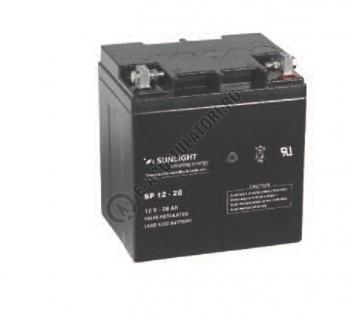 Acumulator VRLA SUNLIGHT 12V 28 Ah cod SPA 12-281