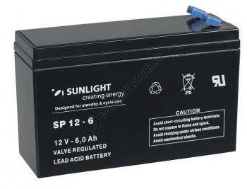 Acumulator VRLA SUNLIGHT 12V 6 Ah cod SPA 12-60