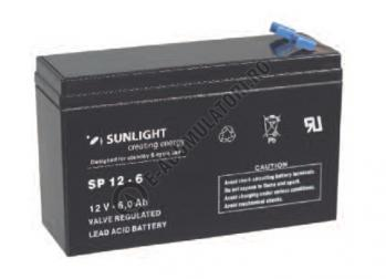 Acumulator VRLA SUNLIGHT 12V 6 Ah cod SPA 12-61