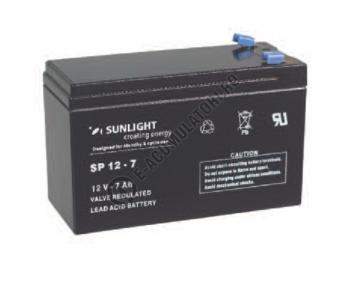 Acumulator VRLA SUNLIGHT 12V 7 Ah cod SPA 12-71