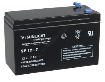 Acumulator VRLA SUNLIGHT 12V 7 Ah cod SPA 12-70