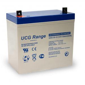 Acumulator VRLA Ultracell GEL Deep Cycle 12V 55 Ah UCG55-120