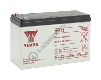 Acumulator VRLA Yuasa 12V, 7Ah NP7-122
