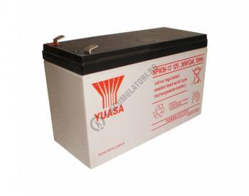 Acumulator VRLA Yuasa 12 V 7 Ah cod NPW36-122