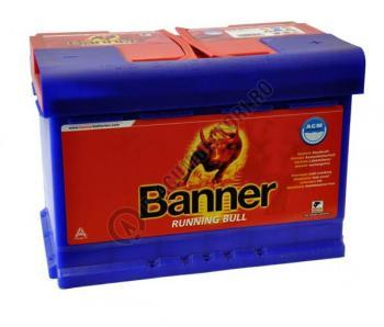 Baterie Auto Banner Running Bull AGM 80 ah cod 580011