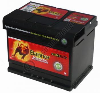 Baterie Auto Banner Running Bull EFB 60 ah cod 560111