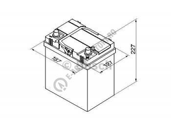 Baterie Auto Bosch S4 40 Ah ASIA cod 0092S401801