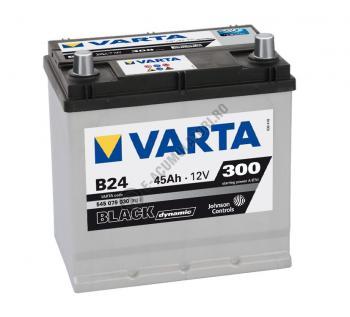 BATERIE AUTO VARTA BLACK 45 Ah borne inverse cod B24 - 54507903031221