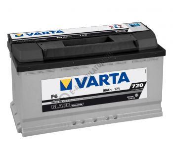 BATERIE AUTO VARTA BLACK 90 Ah cod F6 - 59012207231221