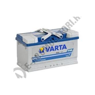 BATERIE AUTO VARTA BLUE 80 Ah cod F17 - 58040607431321