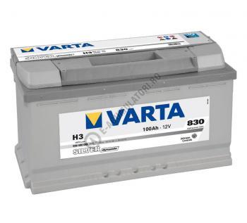 BATERIE AUTO VARTA SILVER 100 Ah cod H3 - 60040208331621