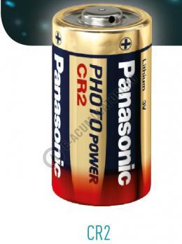 Baterie litiu Panasonic 3V, CR2 blister 1 buc1