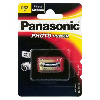Baterie litiu Panasonic 3V, CR2 blister 1 buc0