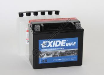Acumulator Moto Exide cu AGM 12V 10 Ah borne inverse YTX12-BS1