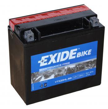 Acumulator Moto Exide cu AGM 12V 18 Ah YTX20HL-BS1
