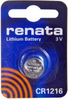 Baterie RENATA Lithium CR1216 BL10