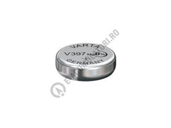 Baterie silver Varta V397, blister 1 buc1