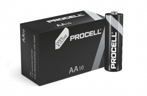 Baterie alcalina Duracell Procell MN1500 AA 10pack0