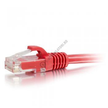 Cablu retea UTP CAT6 Booted Unshielded C2G 7m red 834511