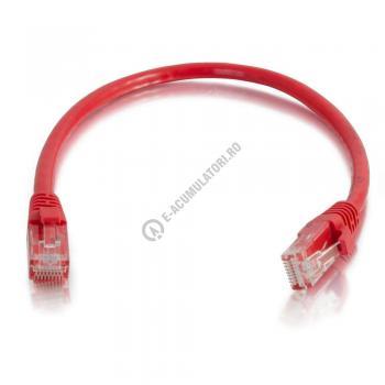 Cablu retea UTP CAT6 Booted Unshielded C2G 7m red 834510