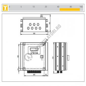 Regulator incarcare solara SAMLEX STECA POWER TAROM 21402