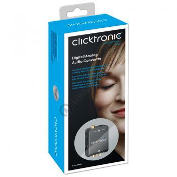 Convertor audio DIGITAL la ANALOG Clicktronic cod 608353