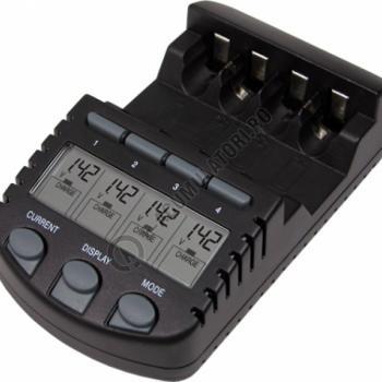 Incarcator inteligent R6 R3 LaCrosse multifunctional RS700-BLI AA/AAA0
