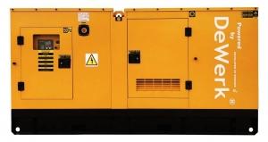 Generator curent electric (grup electrogen) DeWerk Rezidential ESE 110 DWR 110kVA diesel trifazat carcasa inclusa0