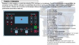 Generator curent electric (grup electrogen) DeWerk Rezidential ESE 110 DWR 110kVA diesel trifazat carcasa inclusa2