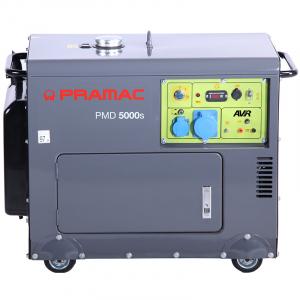 Generator monofazat 4,95kW diesel, insonorizat, pornire electrica, PMD5000s, optional automatizare0