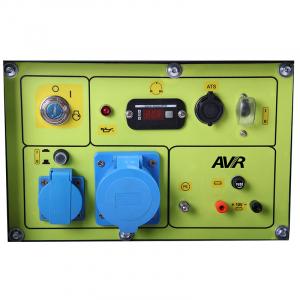 Generator monofazat 4,95kW diesel, insonorizat, pornire electrica, PMD5000s, optional automatizare2